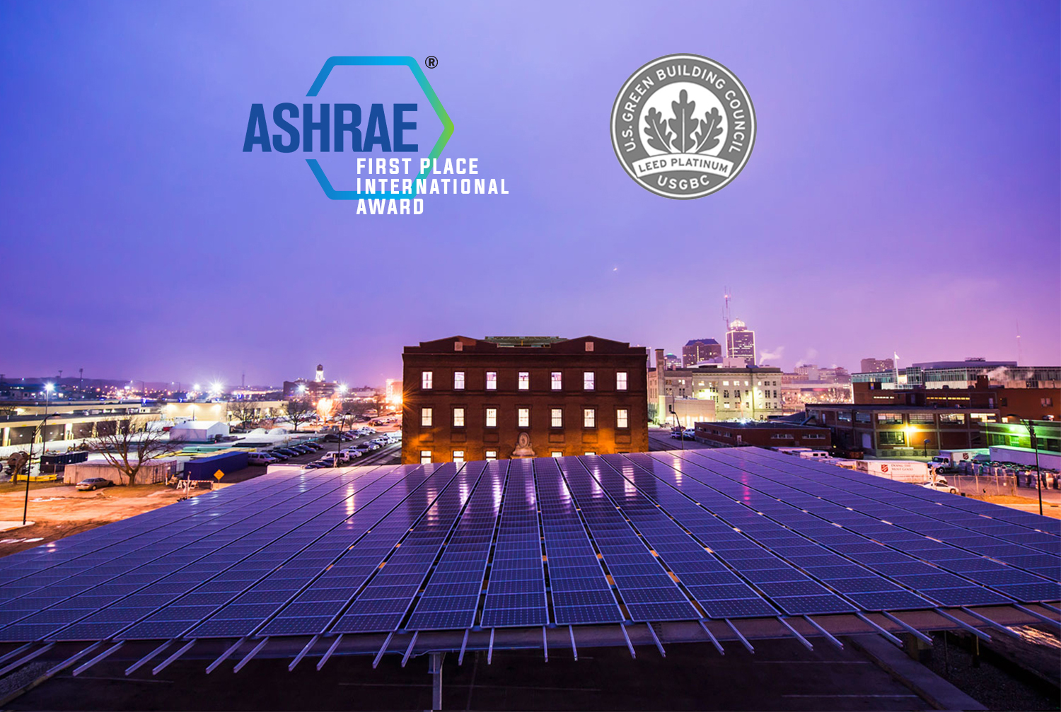 FIRST PLACE ASHRAE TECHNOLOGY AWARD